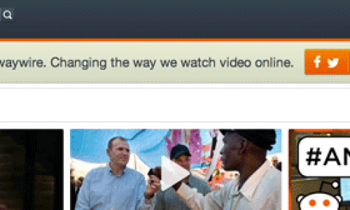 "REVIEW: Waywire.com claims they are ""Changing the Way We Watch Video Online""."
