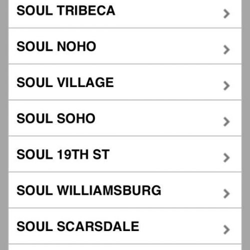 Soul Cycle 19th St, 2nd Union Square Location