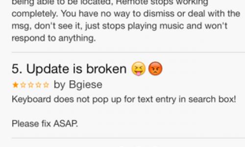 Apple Makes Bad Things: iOS Remote