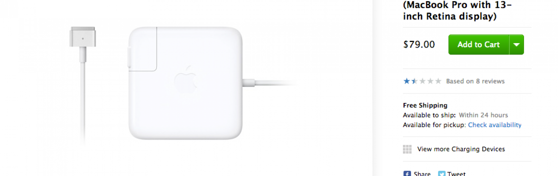 Apple Makes Bad Things: Apple 60W MagSafe 2 Power Adapter