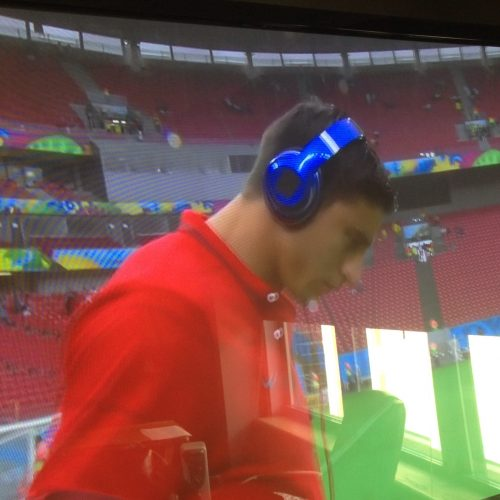 This is what it looks like when the @FIFAWorldCup BANS your @beatsbydre Brand.