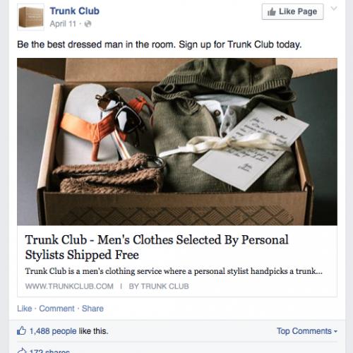When AD's Attack: TrunkClub.com