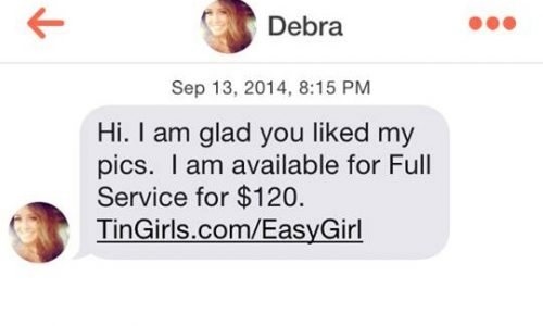 Tinder has a Major Prostititute Problem: PART 2 (NSFW)