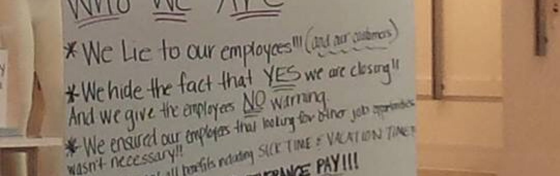 @WetSeal is just about dead, More Signs From Employees