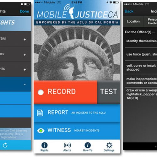 ACLU launches iOS app to record law enforcement encounters