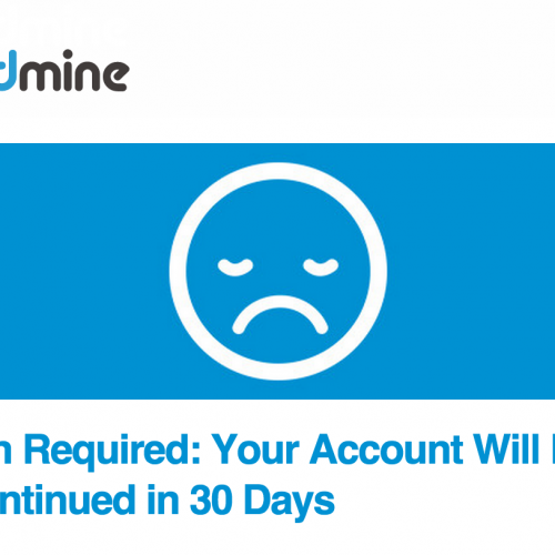 "CloudMine ""Restructures"" Cancels All Existing Free Accounts"