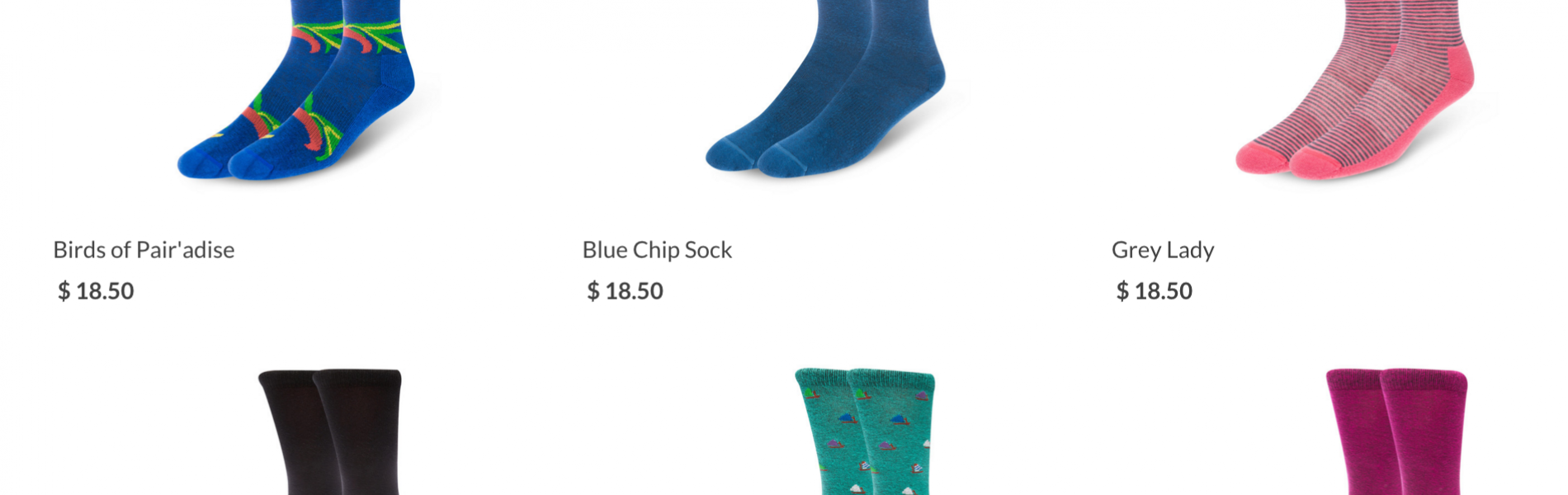 $18 for Ugly Socks with a Bee logo? HA HA HA