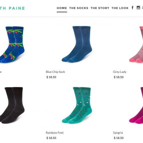 $18 for Ugly Socks with a Bee logo? HA HA HA