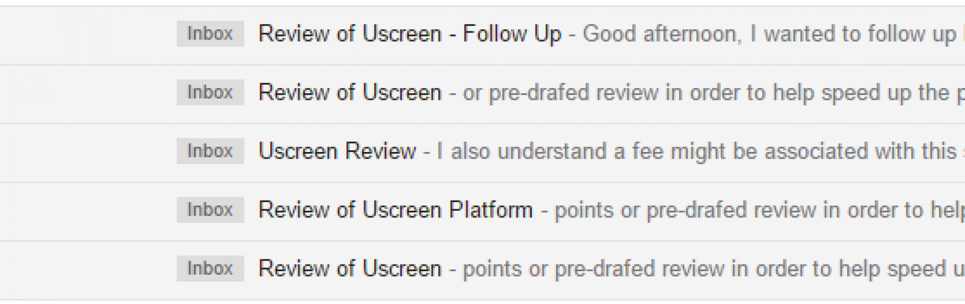 Beware of Uscreen Reviews, They offer $$$ for Reviews.