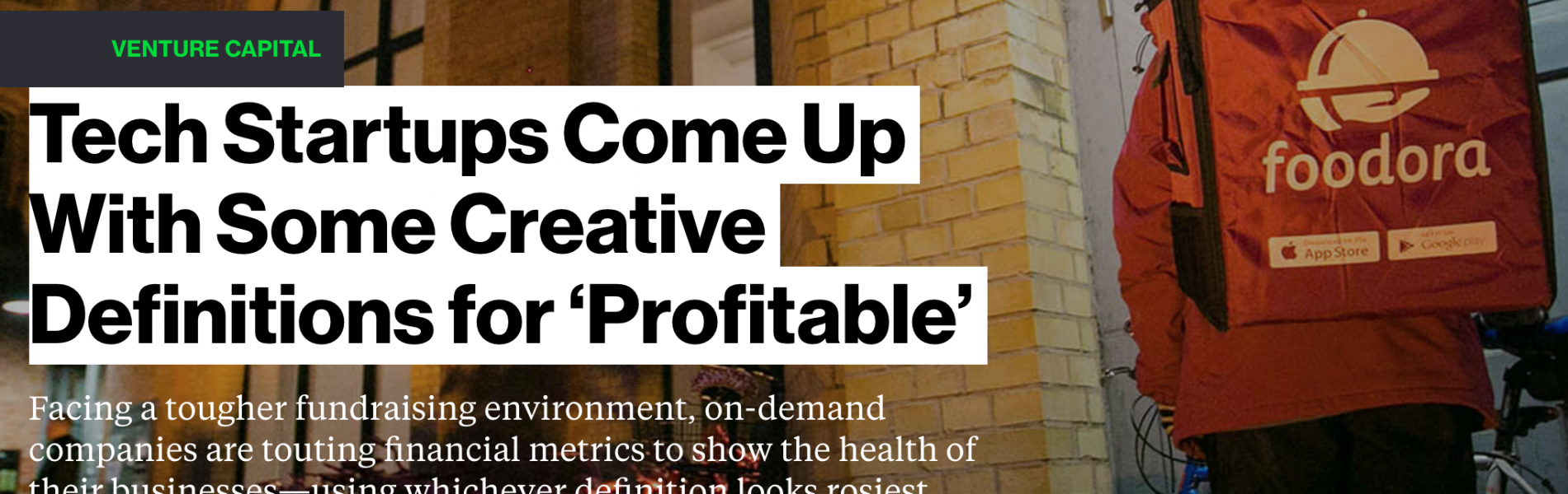 Tech Startups Come Up With Some Creative Definitions for 'Profitable'