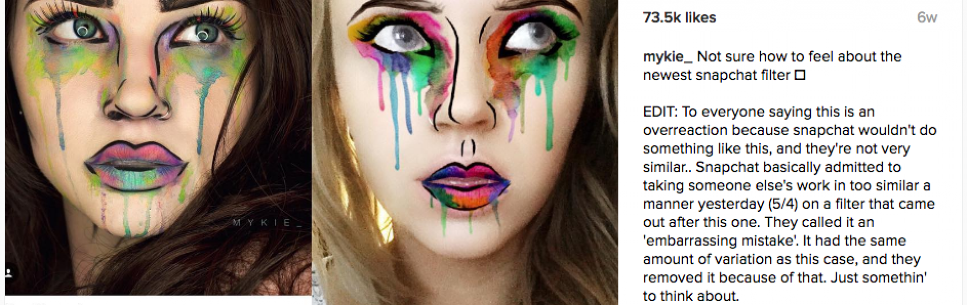 """Swiped"" – Is Snapchat stealing filters from makeup artists?"