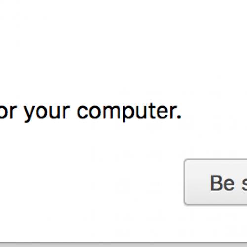 Google Chrome – Recover Malware?