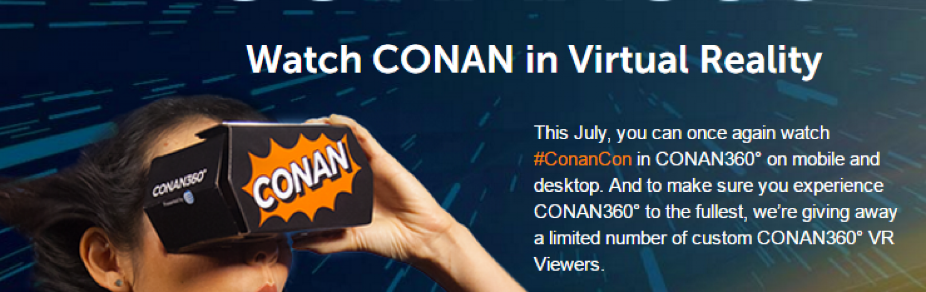 Free Conan360° Google Cardboard VR Viewer