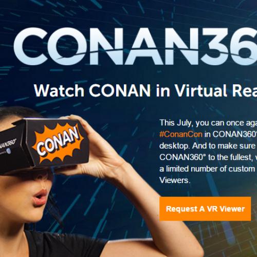 Free Conan360° Google Cardboard VR Viewer