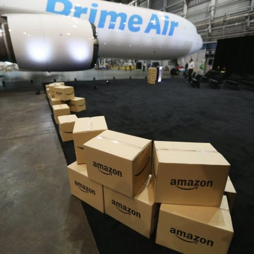 Will Amazon PrimeAir only fly between Seattle & Columbus, Ohio?