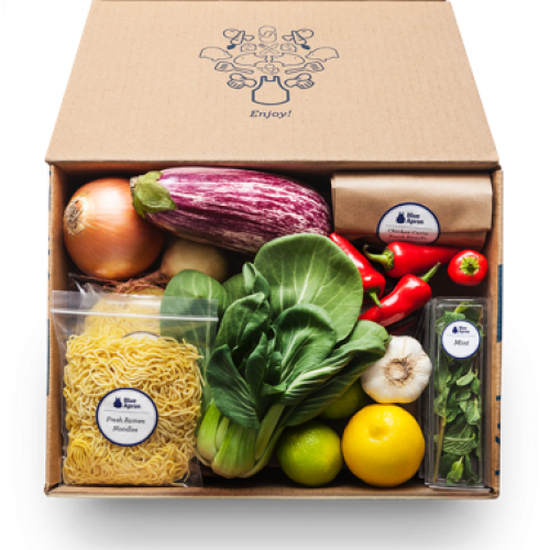 It's definitely not all sugar and spice at Blue Apron